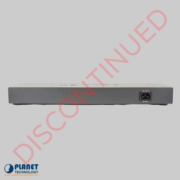 DISCONTINUED FGSW-2620CS Web Smart Switch Back