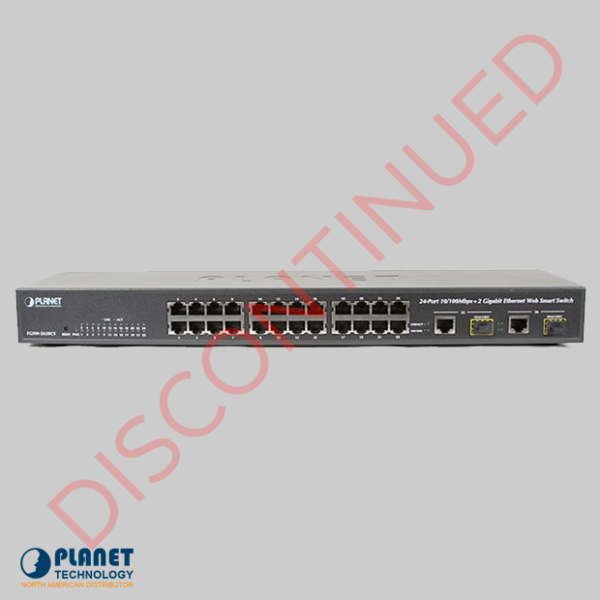 DISCONTINUED FGSW-2620CS Web Smart Switch