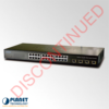 GSW-2404SF Web Smart Gigabit Ethernet Switch – DISCONTINUED