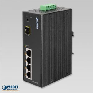 ISW-514PSF Industrial PoE Switch