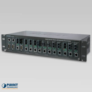 MC-1500R48 Media Converter Chassis