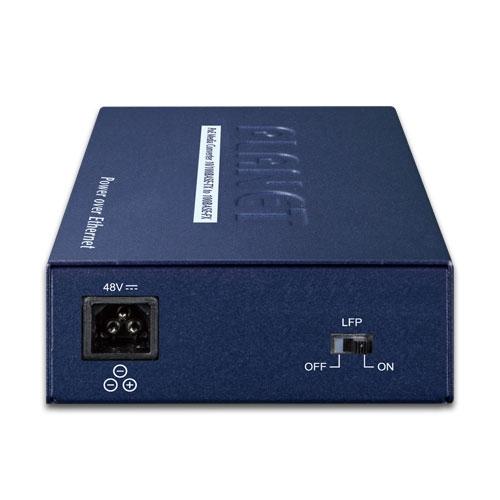 FTP-802S15 Media Converter Back