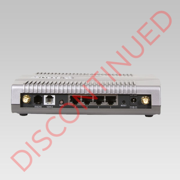 DISCONTINUED VC-230N VDSL2 Router Back