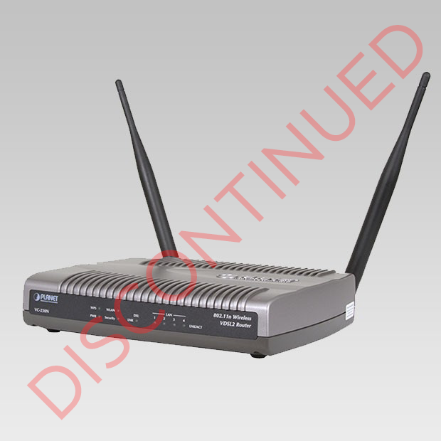 DISCONTINUED VC-230N VDSL2 Router