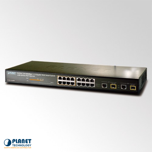 FGSW-1828PS Web Smart PoE Switch
