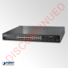 DISCONTINUED FGSW-2612PVM 12-Port PoE Ethernet Switch
