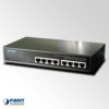 FSD-804P 8-Port Ethernet Switch with 4-Port PoE Injector