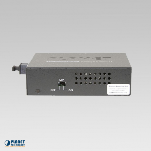 FT-806A20 Bi-directional Fiber Converter Side 1