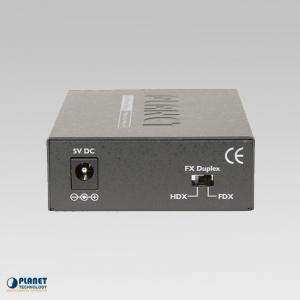 FT-806A20 Bi-directional Fiber Converter Back