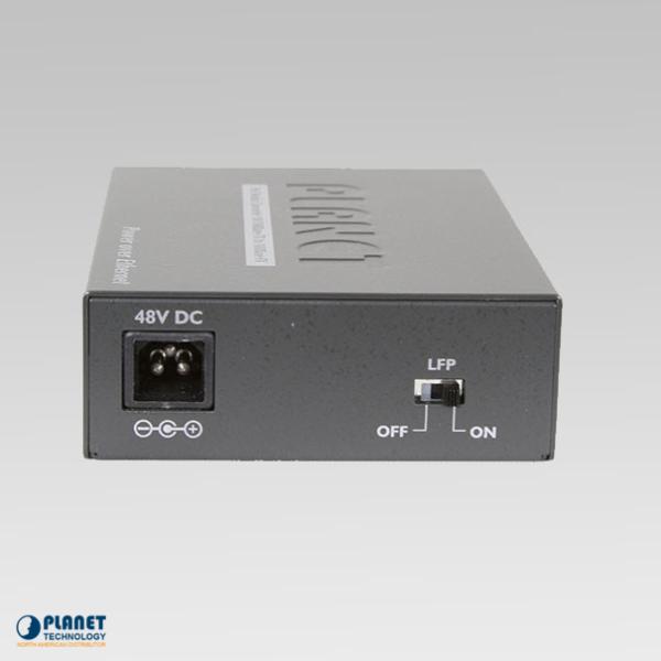 FTP-802S15 Fiber Media Converter Back