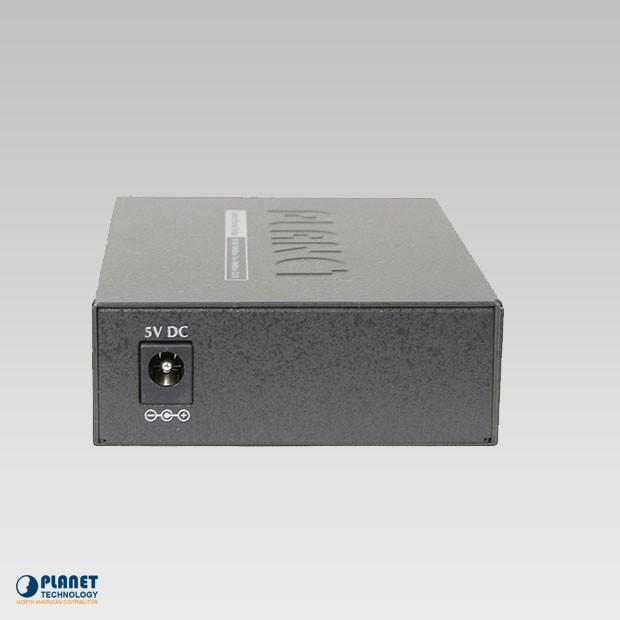 GT-802 Gigabit Media Converter Back