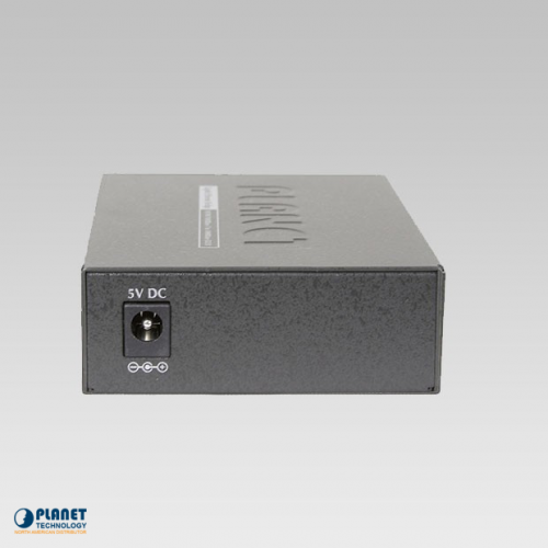 GT-802S Gigabit Media Converter Back