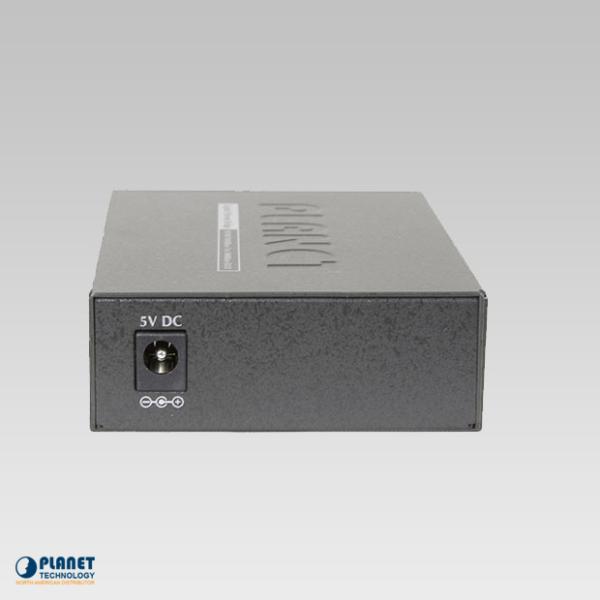 GT-802S Gigabit Media Converter Back