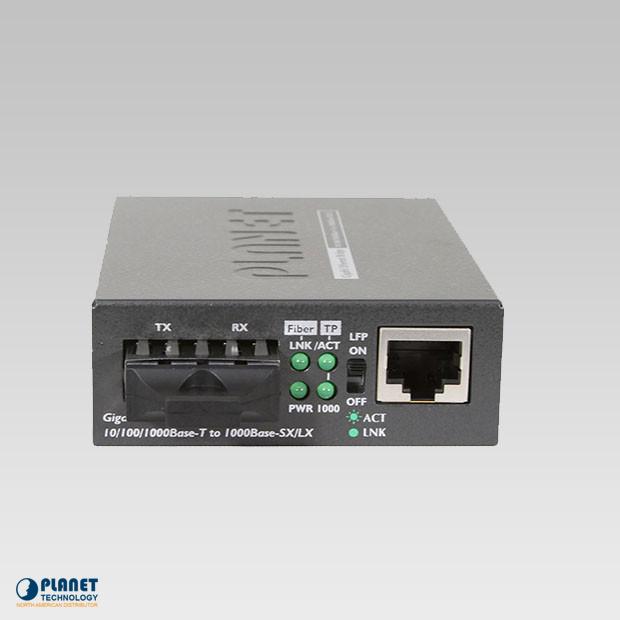 GT-802S Gigabit Media Converter