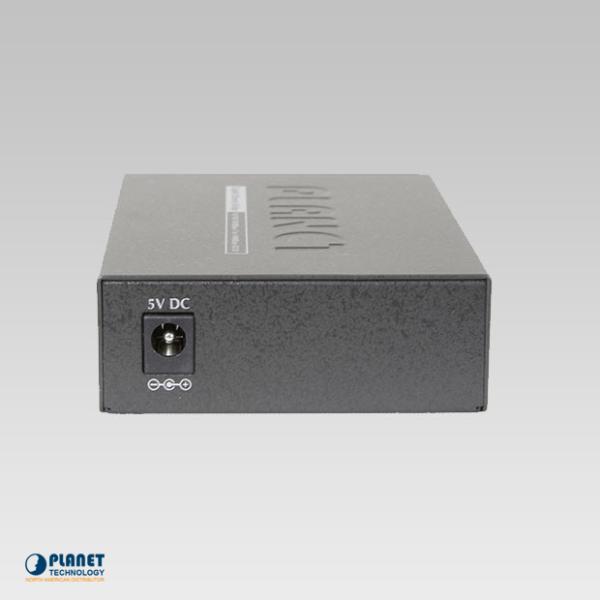 GT-805A Media Converter Back
