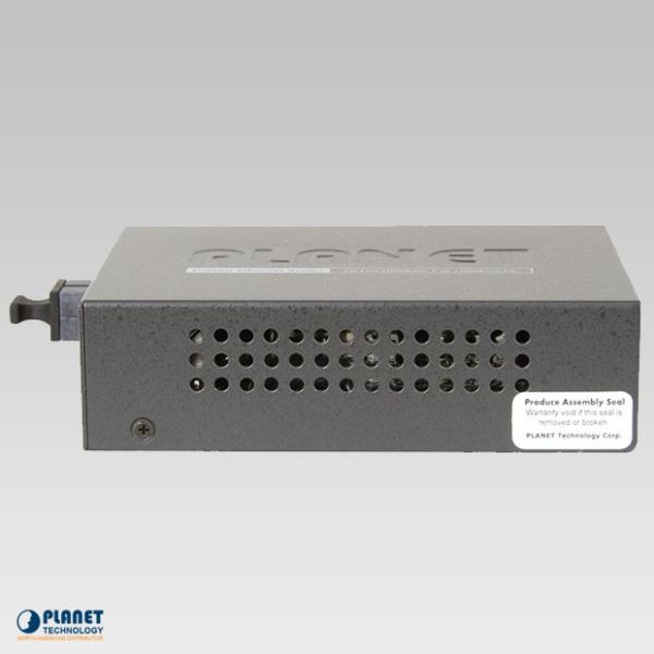 GT-806A15 Bi-directional Media Converter Side 2