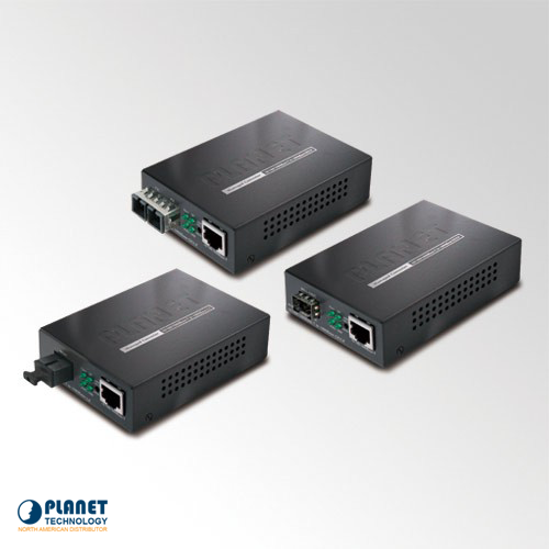 GT-902S Web/SNMP Manageable Gigabit Media Converter