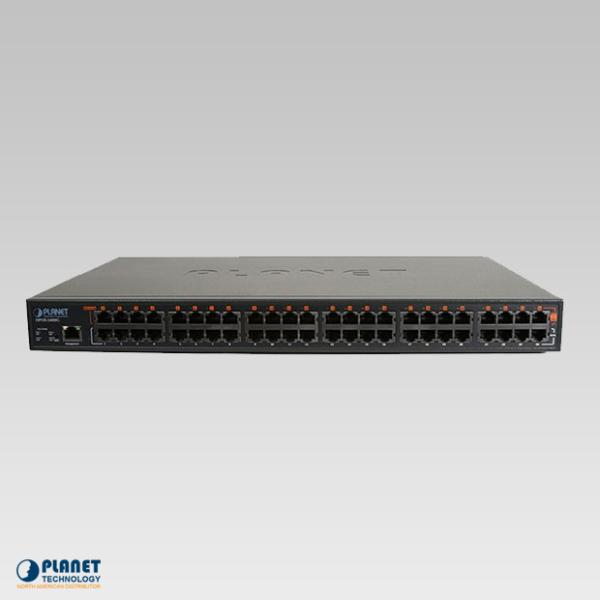 HPOE-2400G 24-Port Gigabit High PoE Injector Hub