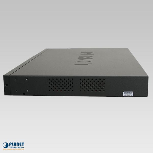 HPOE-2400G 24-Port Gigabit High PoE Injector Hub Side 1