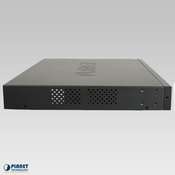 HPOE-2400G 24-Port Gigabit High PoE Injector Hub Side 2