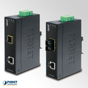 IFT-805AT Industrial Media Converter