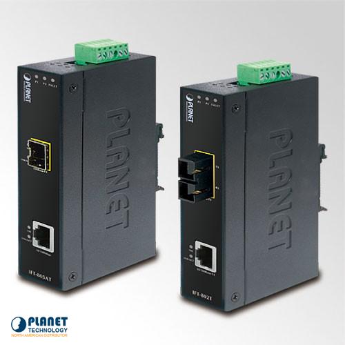 IFT-805AT Industrial Media Converter