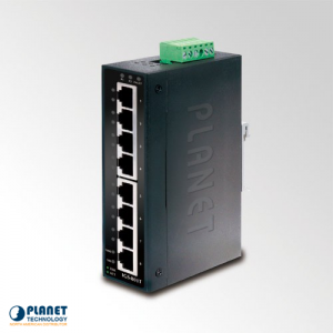 IGS-801T Industrial 8-Port Gigabit Ethernet Switch