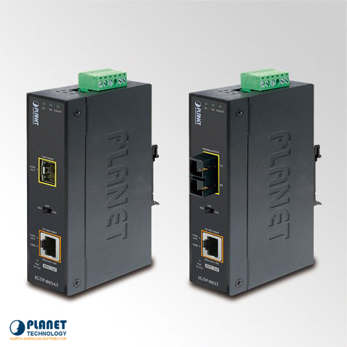 IGTP-805AT Industrial Media Converter