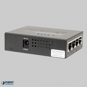 POE-400 4-Port PoE Injector Hub Side 1