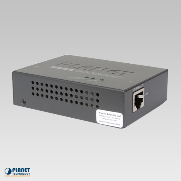POE-E201 High Power PoE Repeater Side 1