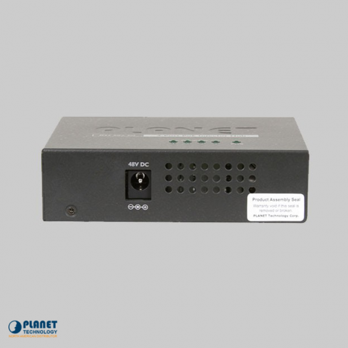 POE-400 4-Port PoE Injector Hub Side 2