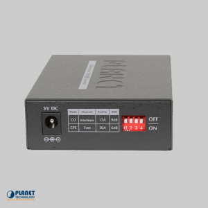 VC-231 Single Port VDSL2 Converter Back