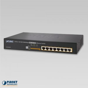 GSD-808HP PoE Desktop Switch