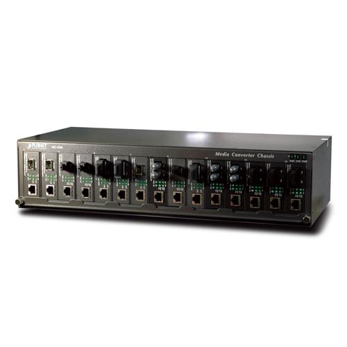 MC-1500 with media converters