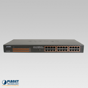 FNSW-2400PS 24-Port PoE Switch