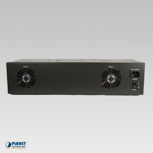 MC-1500 15-Slot Media Converter Back