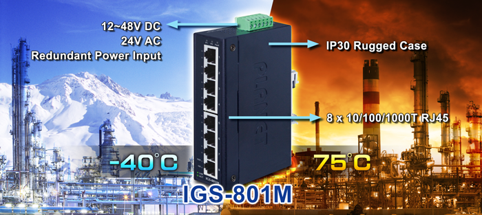 IGS-801M Features