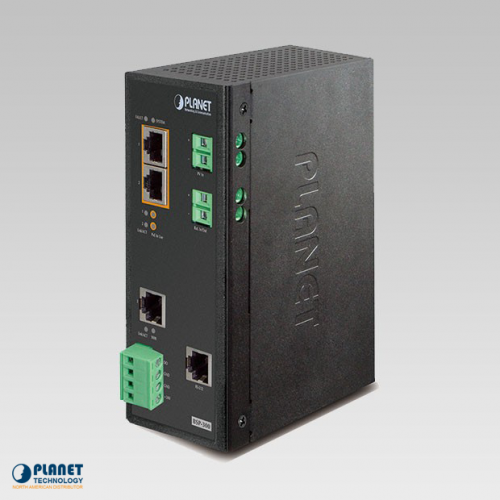 BSP-300 Industrial Solar PoE Switch