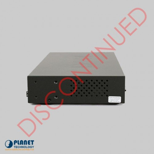 FGSD-1022 8-Port SNMP Managed Switch Side DISCONTINUED