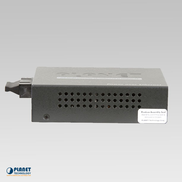 FTP-802 PoE Media Converter Side 1