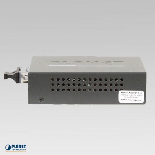 GT-902 Gigabit Media Converter Side 1