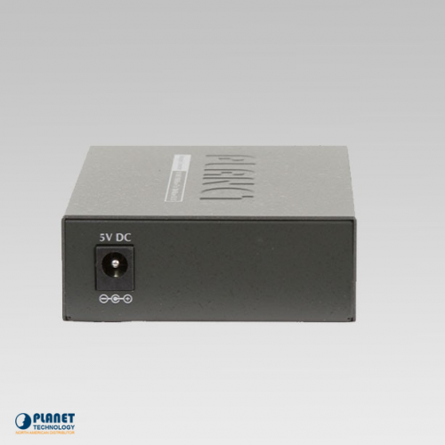 GT-902 Gigabit Media Converter Back