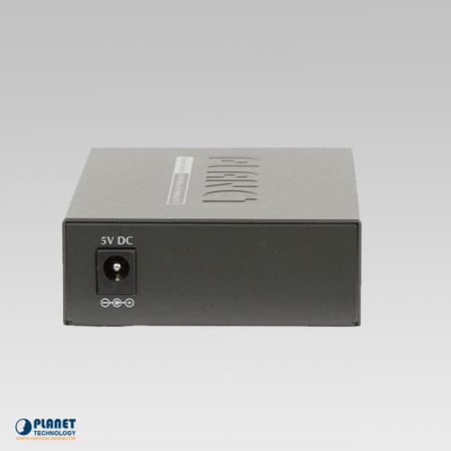 GT-902 Gigabit Media Converter Back