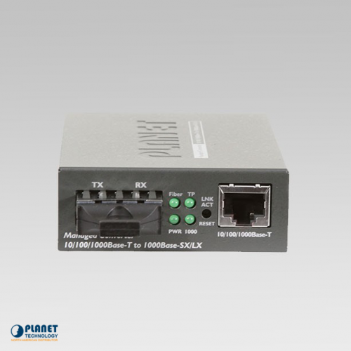 GT-902 Gigabit Media Converter