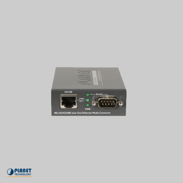 ICS-100 RS-232 / RS-422/ RS-485 to 10/100TX Media Converter
