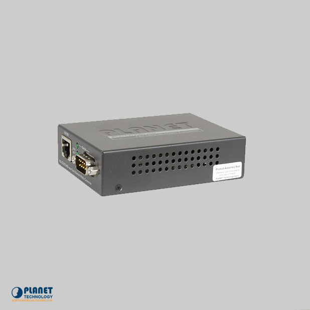 ICS-100 Media Converter Side