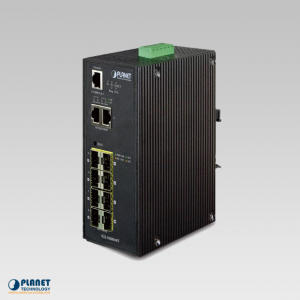 IGS-10080MFT Industrial 8-Port SNMP Switch