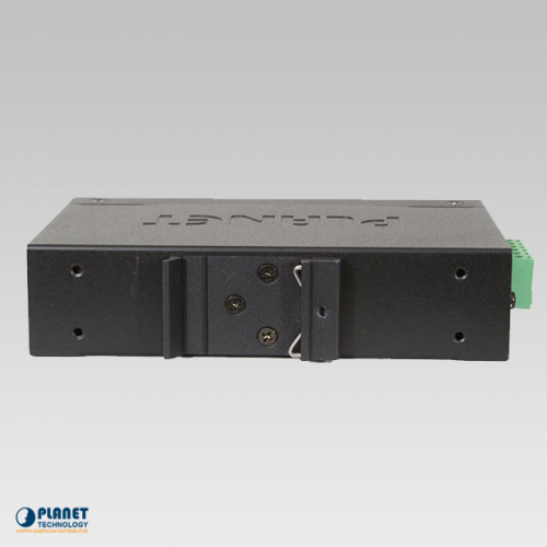 IVC-2002 Industrial 4-Port Ethernet Extender Back