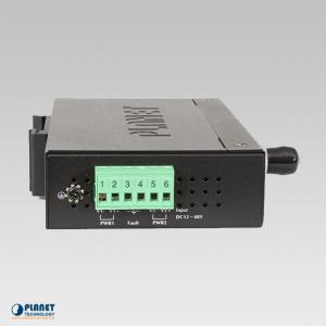 IVC-2002 Industrial 4-Port Ethernet Extender Side 1
