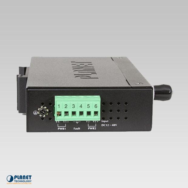 IVC-2002-KIT Industrial 4-Port Ethernet Extender Kit Side 1